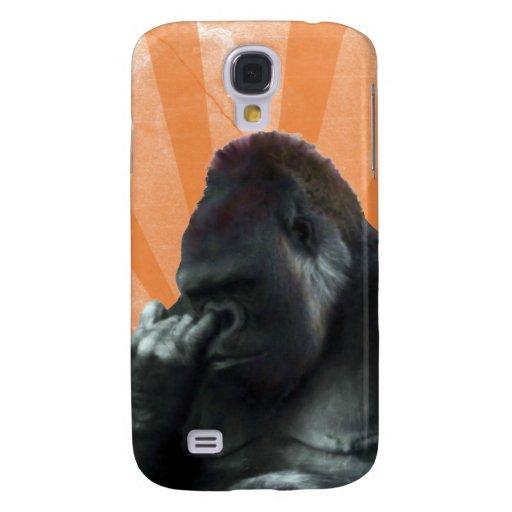 Caso del iPhone 3G del gorila Funda Para Galaxy S4