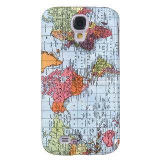 Caso del iPhone 3G del mapa del mundo