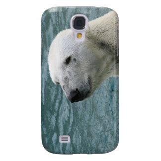 Caso del iPhone 3G del perfil del oso polar