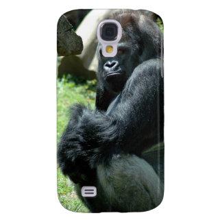 Caso del iPhone 3G del resplandor del gorila