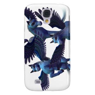 Caso del iPhone 3G del trío de Pegaso Funda Para Galaxy S4