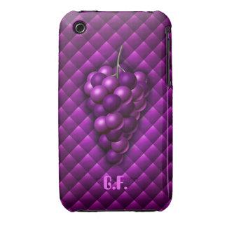 Caso del iPhone 3G/Gs de la uva Funda Para iPhone 3