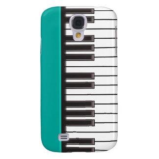 caso del iPhone 3G - llaves del piano en la aguama Funda Para Galaxy S4