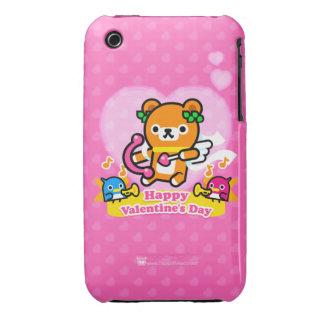 Caso del iPhone 3GS de la tarjeta del día de San iPhone 3 Case-Mate Protector