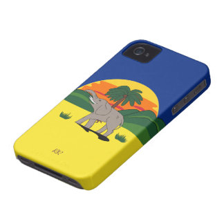 Caso del iPhone 4/4S Barely There del elefante de Case-Mate iPhone 4 Cárcasas