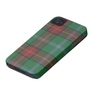 Caso del iPhone 4/4S BARELY THERE del tartán de iPhone 4 Carcasa