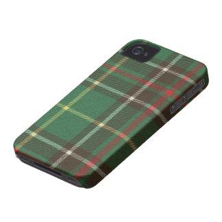 Caso del iPhone 4/4S BARELY THERE del tartán de iPhone 4 Cárcasas