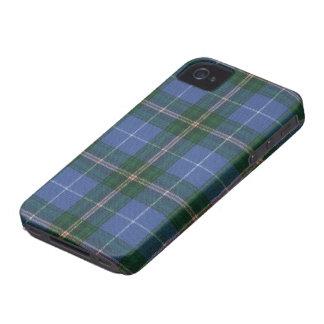 Caso del iPhone 4/4S BARELY THERE del tartán de iPhone 4 Case-Mate Protector