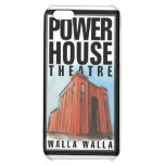 caso del iPhone 4/4s con el logotipo del teatro de