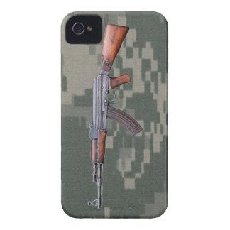 Caso del iPhone 4/4S de Camo del ejército de AK47 iPhone 4 Case-Mate Cárcasas