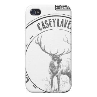 Caso del iPhone 4-4s de CaseyLavere iPhone 4 Carcasas