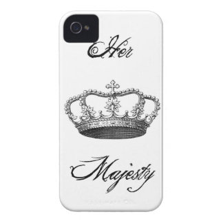 Caso del iPhone 4/4S de Crown_Her Majesty_ Case-Mate iPhone 4 Protector