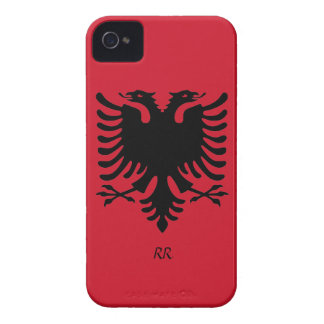 Caso del iPhone 4/4S de Eagle de la bandera de la iPhone 4 Case-Mate Protector
