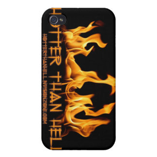 Caso del iPhone 4/4S de HotterThanHell iPhone 4 Carcasa