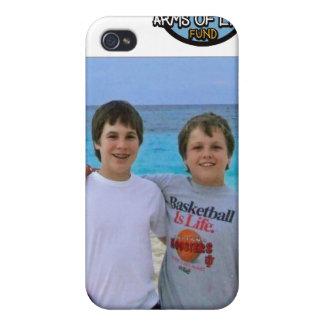 Caso del iPhone 4/4S de Jake y de Travis iPhone 4 Fundas
