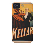 Caso del iPhone 4/4s de Kellar iPhone 4 Case-Mate Fundas