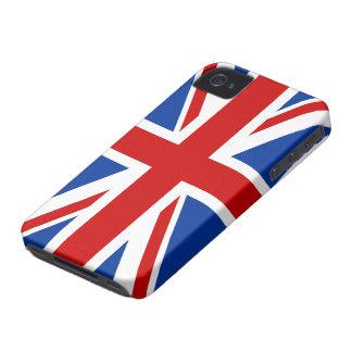 Caso del iPhone 4 4S de la bandera de Union Jack Case-Mate iPhone 4 Protector
