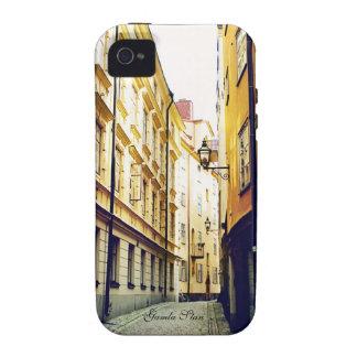 Caso del iPhone 4/4s de la calle de Gamla Stan iPhone 4/4S Carcasa