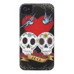 Caso del iPhone 4/4S de la casamata de los cráneos iPhone 4 Case-Mate Carcasas