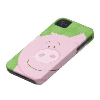 Caso del iPhone 4/4S de la casamata del cerdo Case-Mate iPhone 4 Cobertura