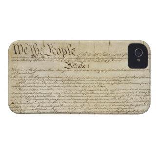 Caso del iPhone 4/4s de la constitución de los Case-Mate iPhone 4 Cobertura