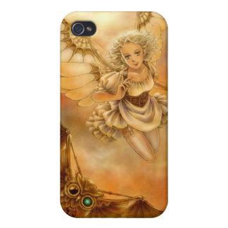 Caso del iPhone 4/4S de la fantasía de Steampunk iPhone 4 Coberturas