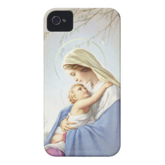 Caso del iPhone 4/4S de la madre y del niño iPhone 4 Case-Mate Coberturas