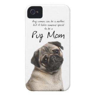 Caso del iPhone 4/4S de la mamá del barro amasado iPhone 4 Case-Mate Protectores