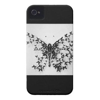 Caso del iPhone 4 4S de la mariposa iPhone 4 Coberturas