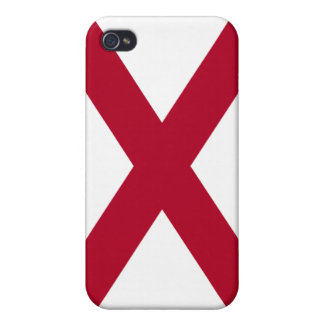 Caso del iPhone 4/4S de la mota de la bandera de A iPhone 4 Funda