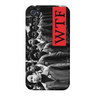 Caso del iPhone 4 4s de la pantera de WTF iPhone 4/4S Funda