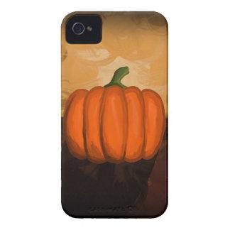 Caso del iPhone 4/4S de la pintura de la calabaza iPhone 4 Case-Mate Coberturas