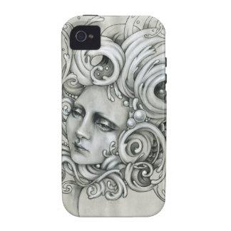 Caso del iPhone 4 4s de la sirena de JDM Vibe iPhone 4 Funda