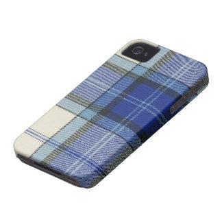 Caso del iPhone 4/4S de la tela escocesa de tartán Case-Mate iPhone 4 Cárcasas
