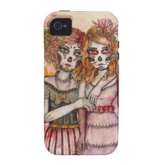 Caso del iphone 4/4s de Las Hermanas iPhone 4 Fundas
