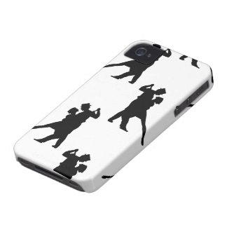 Caso del iPhone 4/4S de los bailarines del salón d iPhone 4 Case-Mate Carcasa