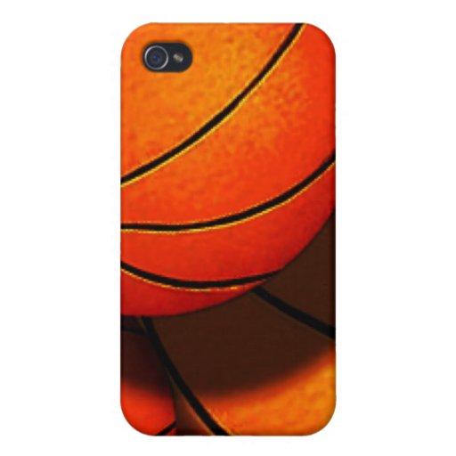 Caso del iPhone 4/4S de los baloncestos iPhone 4 Funda