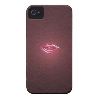 Caso del iPhone 4/4S de los labios Case-Mate iPhone 4 Cobertura