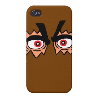 Caso del iPhone 4/4S de los ojos del saco iPhone 4 Fundas