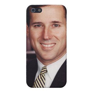 Caso del iPhone 4/4s de Rick Santorum iPhone 5 Funda