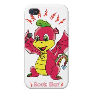 Caso del iPhone 4 4S de Rockstar™ del dragón iPhone 4 Funda