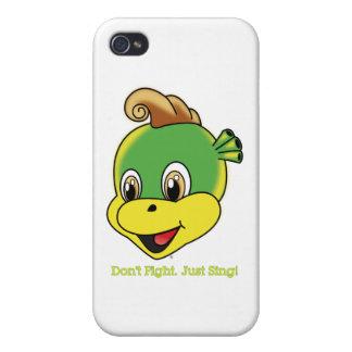 Caso del iPhone 4 4S de Rockstar™ del dragón iPhone 4/4S Funda