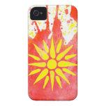 Caso del iPhone 4/4s del aprecio de Macedonia iPhone 4 Case-Mate Cobertura