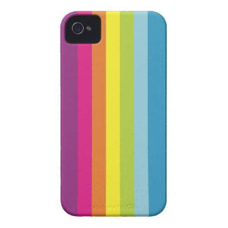 Caso del iPhone 4/4S del arco iris de Estela Acca iPhone 4 Case-Mate Protector