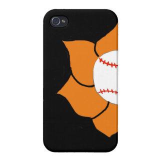 caso del iPhone 4/4s del béisbol iPhone 4 Funda