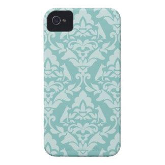 Caso del iPhone 4/4S del damasco de Dobie Case-Mate iPhone 4 Carcasa