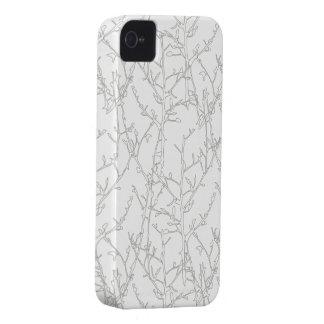 Caso del iPhone 4 4S del diseñador de los ÁRBOLES iPhone 4 Case-Mate Cárcasa