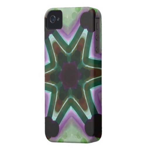 Caso del iPhone 4/4s del diseño del arte abstracto iPhone 4 Cárcasas