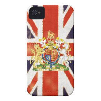 Caso del iPhone 4/4S del escudo de armas de Union  iPhone 4 Case-Mate Cobertura