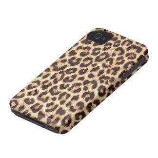 Caso del iPhone 4/4S del estampado leopardo Funda Para iPhone 4 De Case-Mate